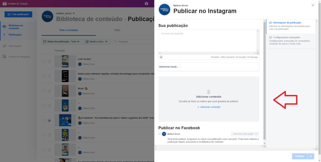 imagem mostra tutorial de como programar postagens no Instagram