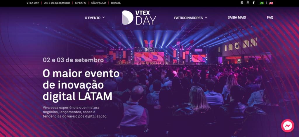 vtex day foi adiado em razão do coronavírus
