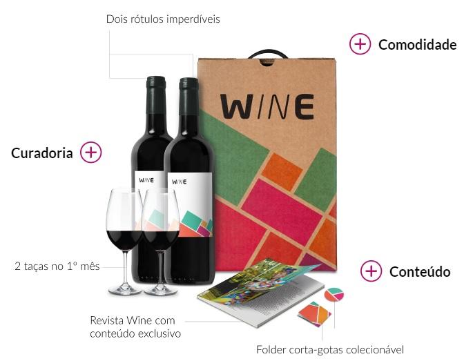 wine clube de assinatura