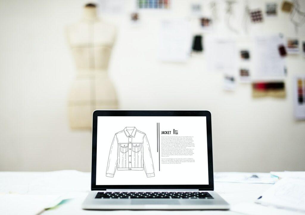Blog e YouTube de e-commerce de moda
