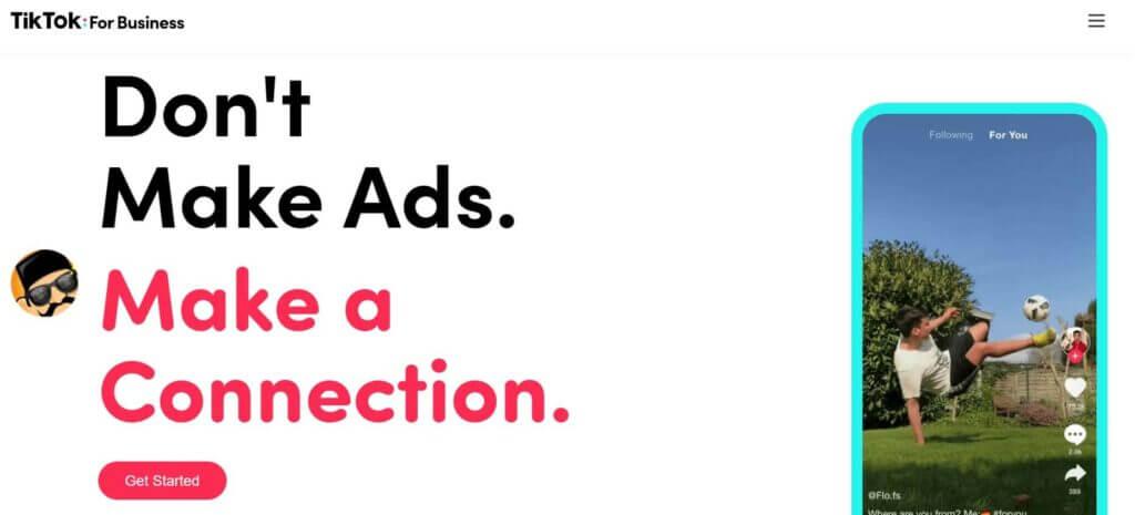 tiktok imagem de anúncio