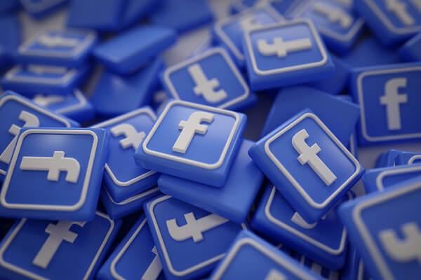 como vender online no facebook imagem com logos do facebook